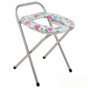 Ali Stainless steel seat chair old man mobile toilet toilet pregnant woman bath chair