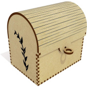 'Leafy Plant' Treasure Chest / Jewellery Box