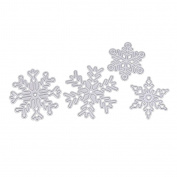 Flying kite Carbon Steel Cutting Dies Stencil Template for DIY Scrapbook Album Paper Card Craft Decoration - Snowflake