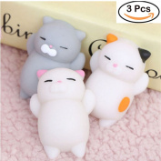 3PCS-Kawaii-Slow-Soft-Rising-Squishy-Squeeze-Cute-Cat-Expression-Smile-Face-Toy
