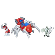 Super Hero Adventures Sha Man and Spider Bot Action Figure