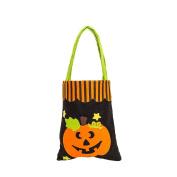 Halloween Candy Bag Cute, Keepfit Kids Pumpkin, Clown, Black Cat and Bat Gift Bag . Pumpkin)