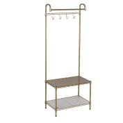 standing coat rack Home metal floor racks / bedroom floor hangers / removable floor clothing racks coat tree/coat hanger stand