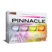 Pinnacle Bling Golf Balls, Multi-Colour