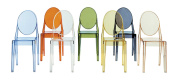 Kartell Victoria Ghost Chairs, Blue