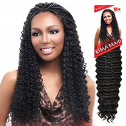 Harlem125 Synthetic Crochet Hair Kima Braid - BRAZILIAN TWIST 50cm