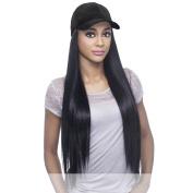 Vivica A. Fox - CAPDO-BLK - Heat Resistant Fibre Full Wig in OFF BLACK