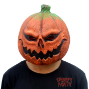 CreepyParty Deluxe Novelty Halloween Costume Party Props Latex Pumpkin Head Mask