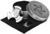 PREMIUM METAL FIDGET SPINNER made of Steel. EDC toy with hybrid ceramic bearing and long spin time. Metal Tri Spinner for relieving ADHD, Anxiety, Boredom, best gift in 2017.