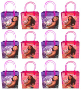 Disney Moana 12 Pcs Goodie Gabs Party Favour Bags Gift Bags Birthday Bags