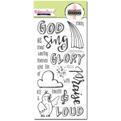 Sweet 'n Sassy Creative Worship Clear Stamps 10cm x 20cm Sing Loud