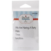Gourmet Rubber Stamps Cling Stamps 7cm x 12cm -We Are Having A Party