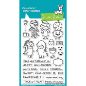 LAWN FAWN Clear Stamps 10cm x 15cm Costume Party