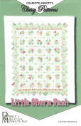 Little Churn Dash Quilt Pattern by Charlotte Angotti - Classy Patterns from Debbie's Creative Moments, Inc. Quilt Size 120cm x 150cm Lap Size