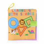 ZHOUBA Non-Toxic Kids Baby Cloth Intelligence Development Early Learning Book Educational Toy - B