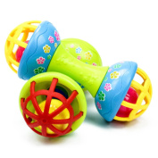 Baby & Toddler Rattles, Bestow 1PC Children Pliable Bell Grasping Ball Exquisite Bell For Child Educational Toy Gift