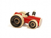 Trako Tractor - handcrafted wooden push toy