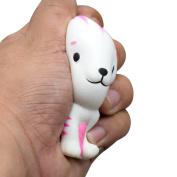 SMALLE New Kawaii Squeeze Slow Rising Jumbo White Kitten Toy , Relieve Fun Decor Gift 8.5cm x 6.5cm x 6cm
