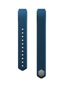 eLander Silicon Replacement Bracelet Strap for Fitbit Alta - Large - Rock Blue