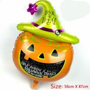 GZQ Pumpkin Decorative Foil Balloons For Party & Halloween & Carnivals