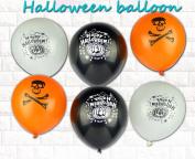 GZQ Halloween Spooky Design Balloon Assortment 100PCS