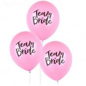 Hongxin 10PC Team Bride Pink Hen Night Do Party Wedding Latex Printed Balloons