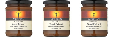 (3 PACK) - Meridian - Natural Yeast Extract No Salt | 340g | 3 PACK BUNDLE