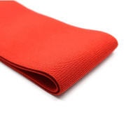 iCraft 10cm Wide by 2-Yard Coloured Double-side Twill Elastic Bands (Red) 73150