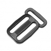 GENCASE 10pcs Small Plastic Sliding Tri-Glides Strap Adjuster Three 20MM Webbing Holes