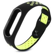 Silicone Replacement Strap for Xiaomi Mi band 2 Fashion Lightweight Ventilate Breathable Smart Sport Bracelet Wristbands Wrist Strap Xiaomi Mi Fitness Tracker Bracelet Accessories