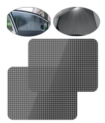Car Window Sun Shades Mesh Screen Window Curtain Static Sun Shades For Car Side and Rear Windows, Maximum UV Rays Protection For Your Child Pet, 72*51cm