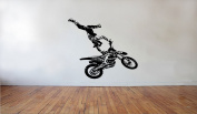 Motocross Bikes Wall Decals Moto Sport Stickers Dirt Bike Jump Decal Decorative Design Ideas For Your Home or Office Wall Removable Vinyl Murals DB0140