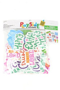 Playside Creations VBS and Camp Crafts, Foam Inspirational Words, . 50 x 3. 190cm , 160 Count