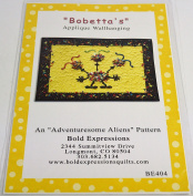 Bobetta's An Adventuresome Alien Pattern Quilt Pattern by Bold Expressions