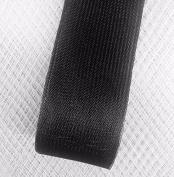 Stiff Polyester Black Horsehair Braid, Selling Per Roll / 50 yards