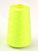 Budget 12039;s Polyester Sewing Thread Cone 4500m Fluorescent Yellow - each