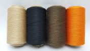 4 Tubes Spun Polyester Serger, Quilting & Sewing Thread 4 Tubes 1000 Yds. Each - THANKSGIVING Thread!