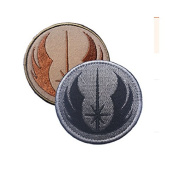Star Wars Jedi Order Legacy ERA Comics Cartoon Logo Kid Baby Jacket T shirt Patch hook and loop Embroidered Symbol Badge Cloth Sign Costume Gift By Ewkft (C