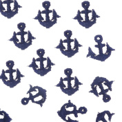 Navy Tiny Anchors Embroidery Sew On Appliques