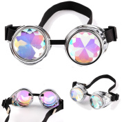 FIRSTLIKE Retro Colourful Kaleidoscope steam punk welding Gothic gorgeous costume accessories