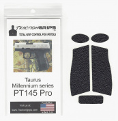 Tractiongrips rubber grip tape for Taurus Millennium Pro PT-145 / PT145 Pro