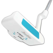 Tour Edge Women's Lady Edge Putter (Right Hand, Steel, Uniflex), Teal