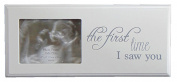 Baby Scan Photo Frame First Picture Wooden Frame with choice of Message