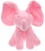 Elephant Peek A Boo Animated Flappy Plush Toys
