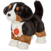 Bernese Mountain Dog Puppy Standing Plush Soft Toy by Teddy Hermann 91930 23 cm
