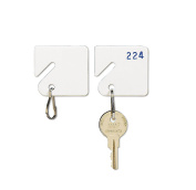 MMF201300006 - Slotted Rack Key Tags for Rack-Style Cabinets