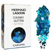 Mermaid Lagoon Chunky Glitter ✮ COSMETIC GLITTER ✮ Festival Glitter Sparkle Face Body Hair Nails