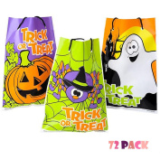 Assorted Halloween Theme Trick Or Treat Drawstring Goody Bags