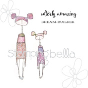 Stamping Bella Danielle's Rubber Stamps-Utterly Violet