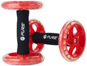 Pure2Improve Unisex Core Training Wheels, Red/Black
